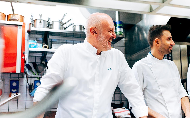 Chef Alessandro Breda in cucina - Ristorante stellato Gellius Oderzo